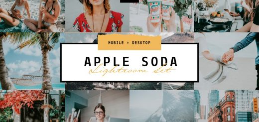 Пресет для Lightroom Apple Soda