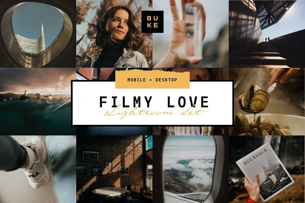 Пресет для Lightroom Filmy Love