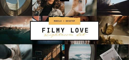 Пресет для Lightroom Filmy Love