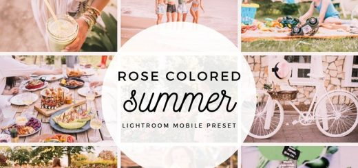 Пресет для Lightroom Rose Colored