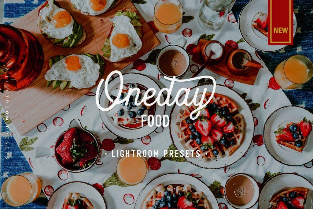 Пресет для Lightroom Oneday Food
