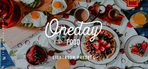 Пресет для Lightroom Oneday Food